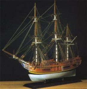 H.M.S. Bounty 1787, Holzbausatz