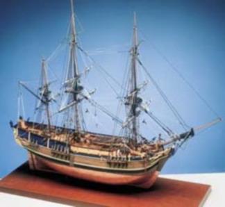 H.M.A.V. Bounty, 660 mm lang