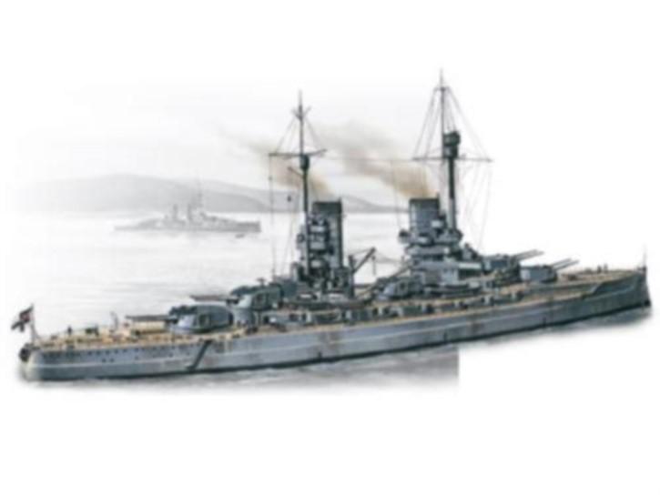 WWI dt. Schlachtschiff König