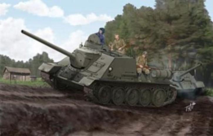 russ. SU-100, Neuheit 12/13