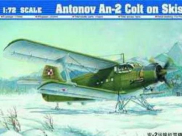 Antonov-AN-2M Colt on Skis