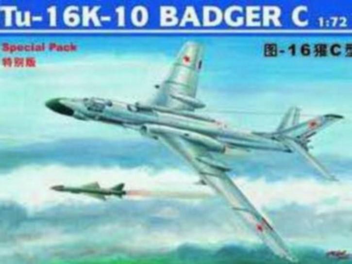 Tu-16K-10 Badger C, mit Fotoätzteilen