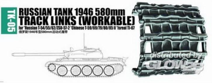 Panzerketten 1946 580mm für russ. T-54/55/62/ZSU-57-2...