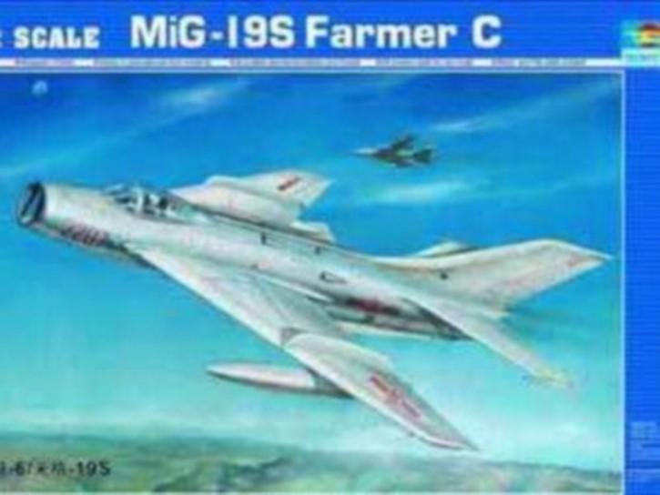 Mig-19 S Farmer C/Shenyang F-6