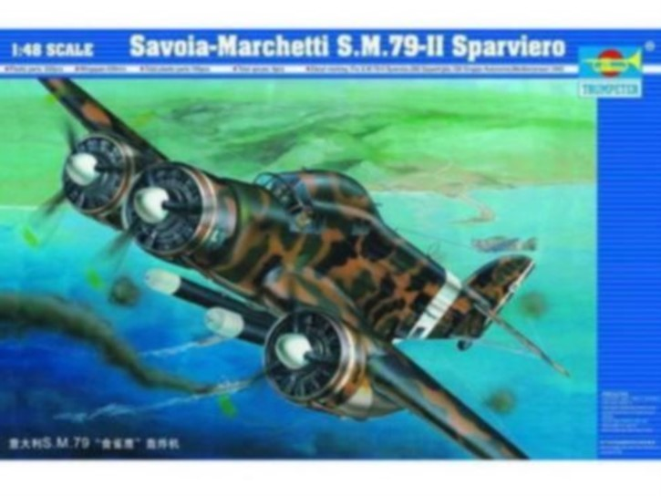 Savola-Marchetti S.M.79-II Sparviero