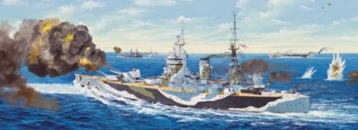 HMS Rodney  (Versand nur als Sperrgut)