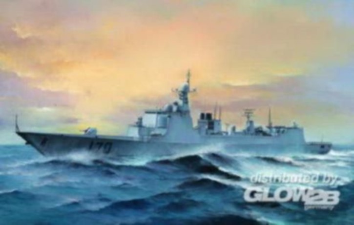PLA Navy Type 052C DDG-170 Lanzhou