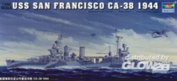 USS San Francisco CA-38 1944