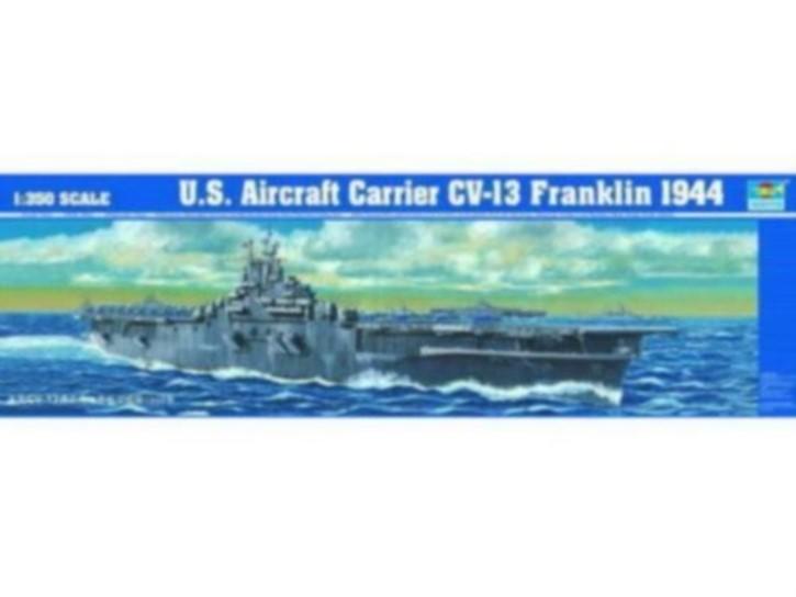 U.S.S. Franklin CV-13 Aircraft Carrier 1945