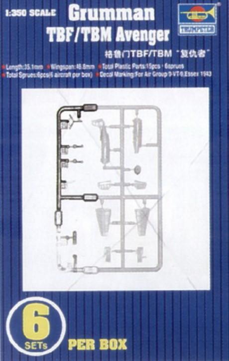 Grumman TBF/TBM Avenger, 6 Stück (Essex)