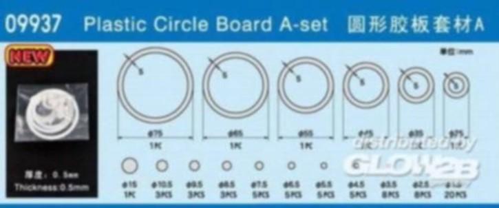 6 Plastikringe 25,35,45,55,65,75 mm