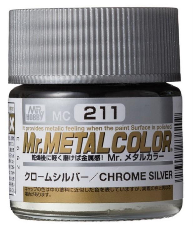 H211-Chromsilber, Mr. MetalColor, 10 ml