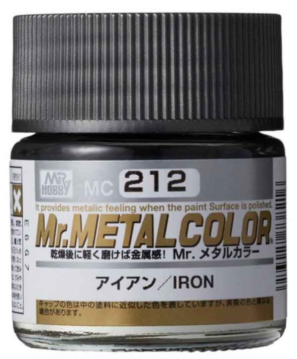 H212-Eisen, Mr. MetalColor, 10 ml