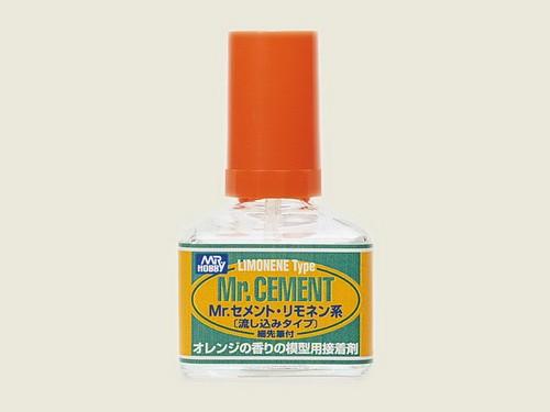 Mr. Cement Limone, 40 ml, dünner Plastikkleber