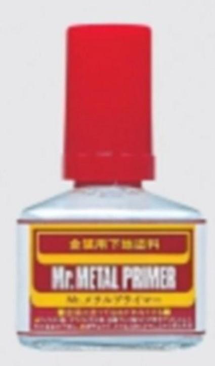 Mr. Metal Primer, 40 ml, Grundierung + Schutzlack