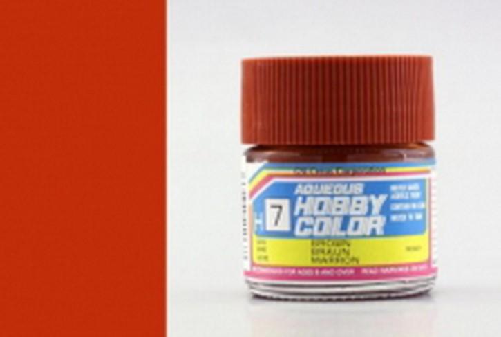 H07-braun, glänzend, Acryl, 10 ml