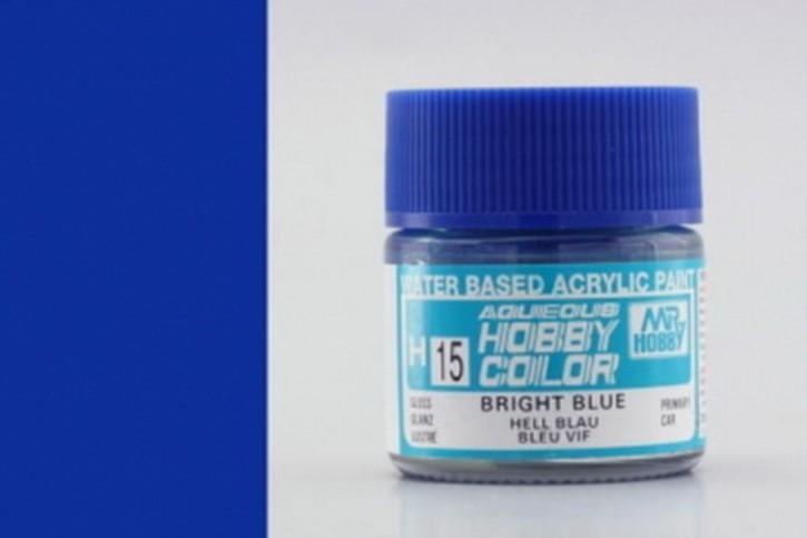 H15-mittelblau, glänzend, Acryl, 10 ml