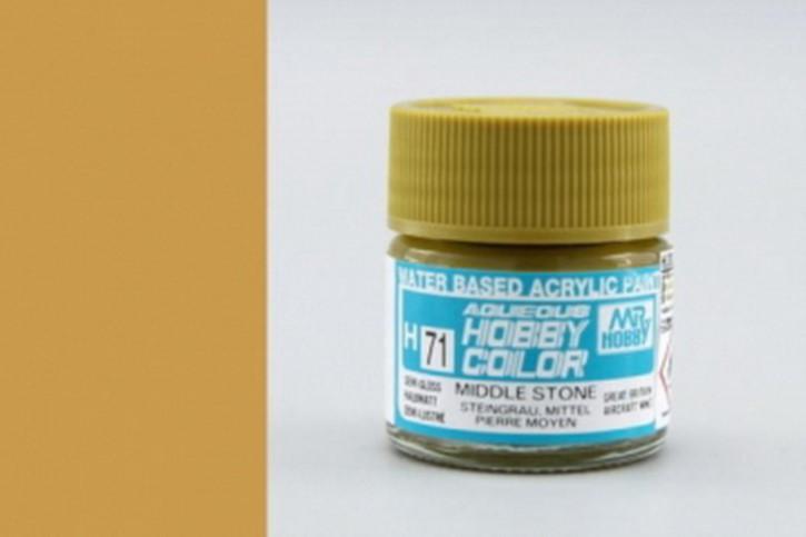 H71-steingrau, seidenmatt, Acryl, 10 ml