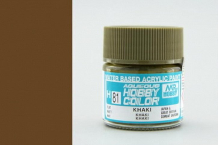 H81-khakibraun, matt, Acryl, 10 ml