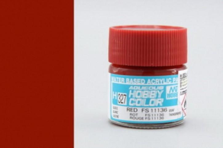 H327-FS11136, red, glänzend, Acryl, 10 ml