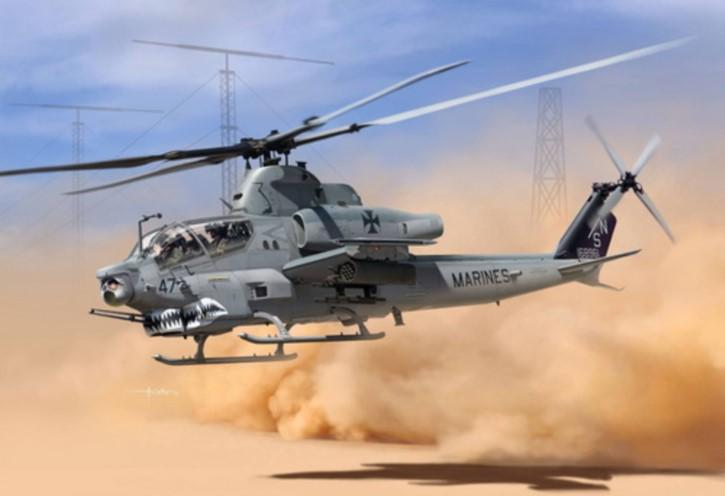 USMC AH-1Z, Shark Mouth