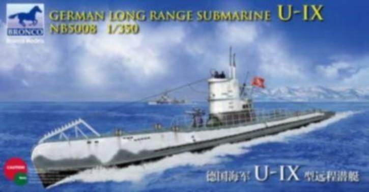 dt. Langstrecken U-Boot U-IX