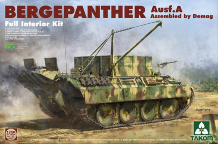 Bergepanther Ausf. A Demag, Full Interior Kit