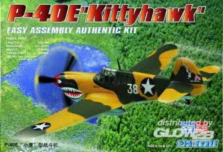 P-40E Kitty Hawk