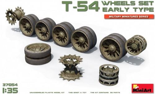 T-54 Wheels Set, early Type