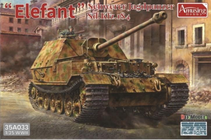Elefant Sd.Kfz.184 with full interior