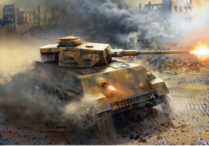 Pz.Kpfw.IV Ausf.H KruppEntwurf W1466