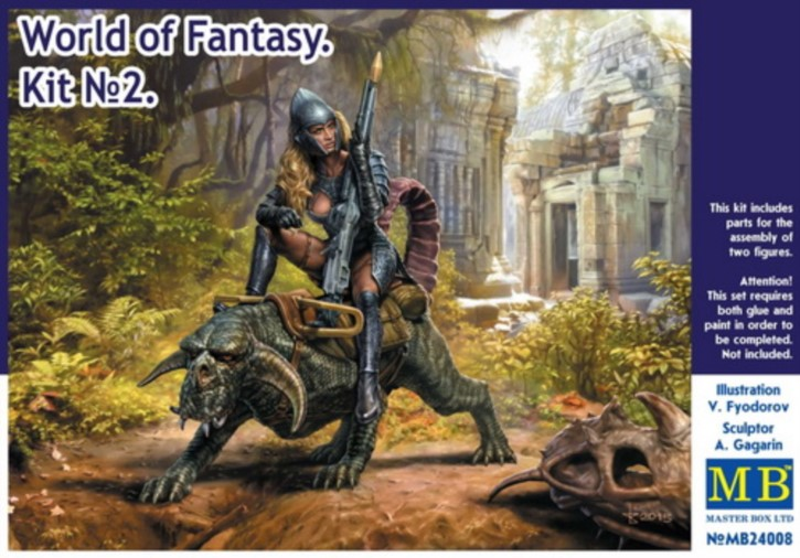 World of Fantasy Graggeron & Heseya Kit No.2, 2 Figuren
