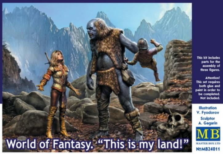 World of Fantasy This is my kand, 3 Figuren
