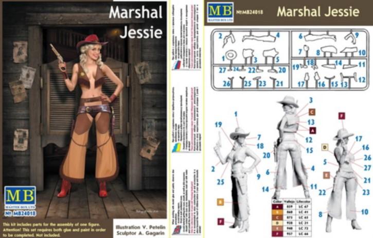 Pin-up series. Marshal Jessie, 1 Figur