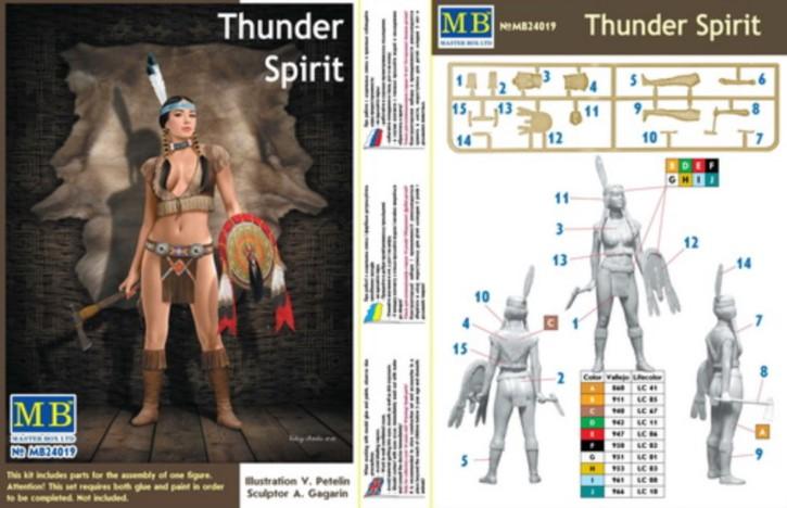 Pin-up series, Thunder Spirit, 1 Figur