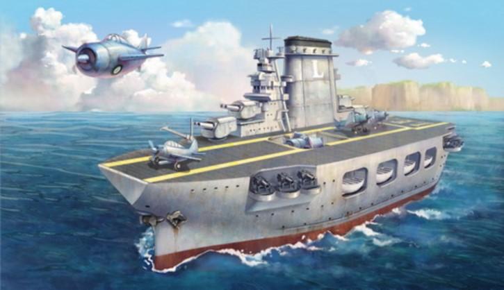 Warship Builder - Lexington, Cartoon Model