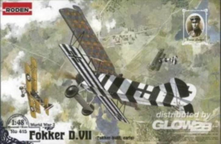 Fokker D.VII, früh