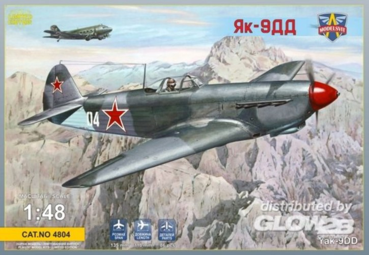Yakovlev Yak-9DD sov. fighter