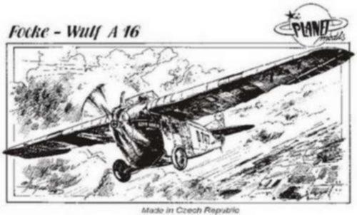 Focke Wulf A16  Resin, limitiert