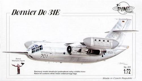 Dornier Do-31E, Resin-Modell
