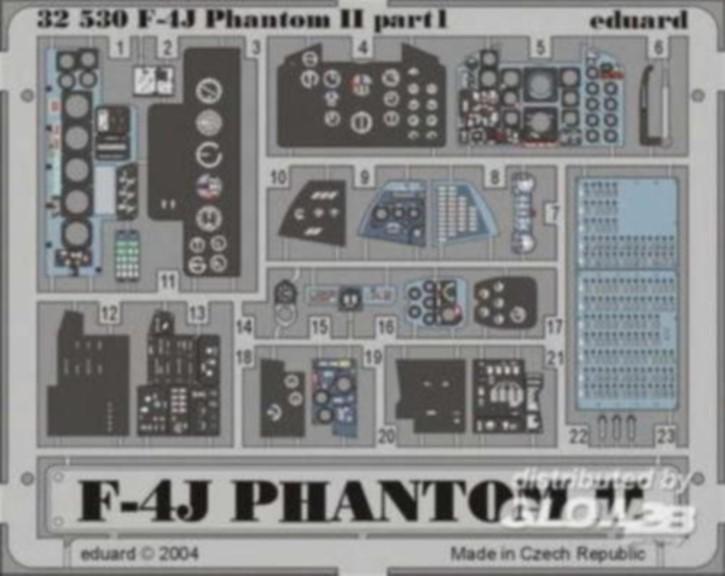 F-4J Phantom interior, Color-Fotoätzteile (TAM)