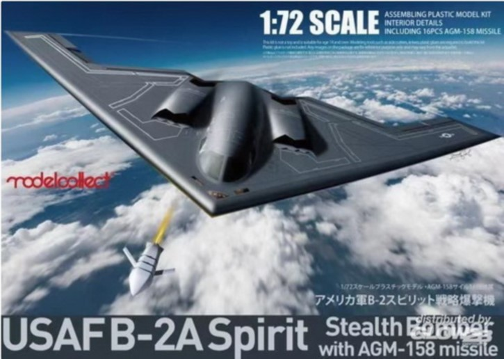 B-2A Spirit with AGM-158 Missile