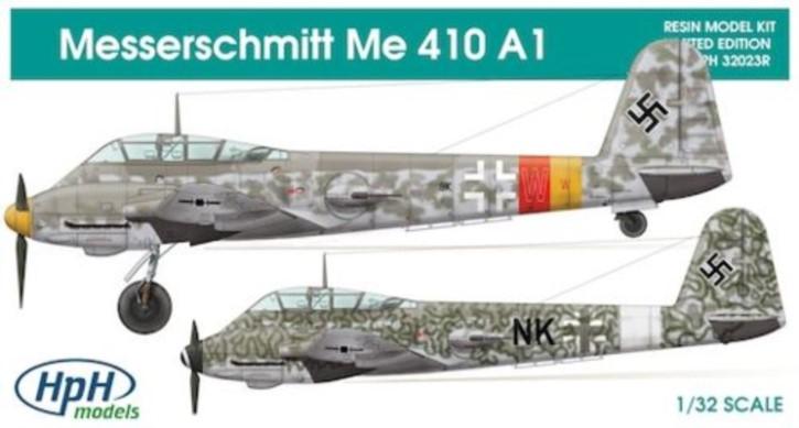 Messerschmitt Me 410A-1, Resin-Modell