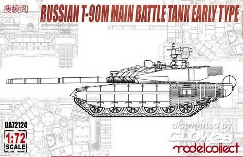 russ. T-90M early type, Neuheit 04/18