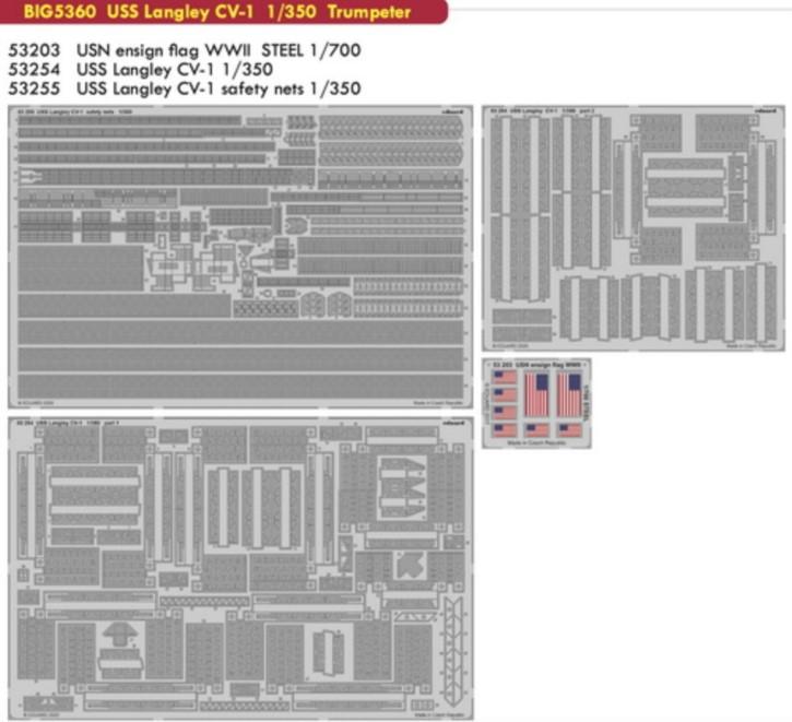 Big ED für CVN-1 Langley (TRU)