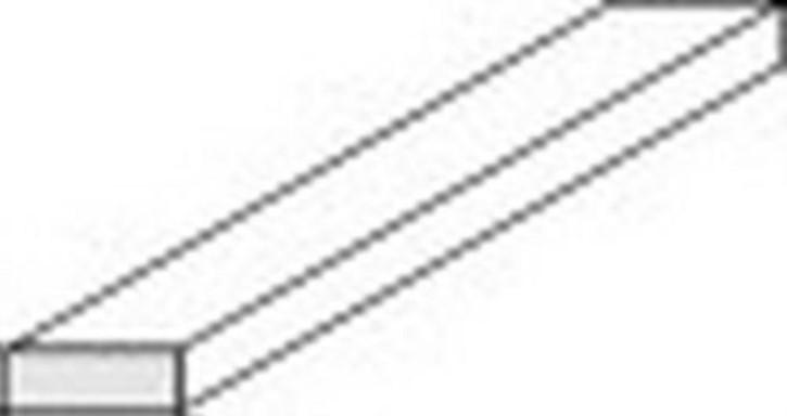 Vierkantprofile 350 x 0,5 x 0,5 mm, 10 Stück