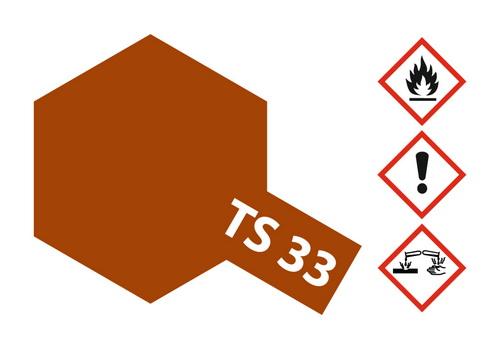 Acryl-Spray-Farbe TS 33 Hull-Red 100 ml