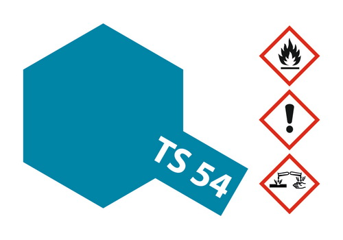 Acryl-Spray-Farbe TS 54 Metallic helllblau 100 ml