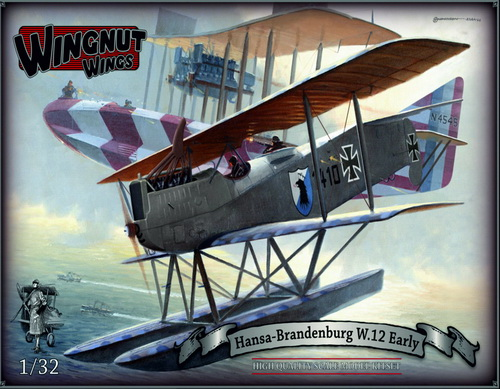 Hansa-Brandenburg W.12 (Early), Topmodell, lim.
