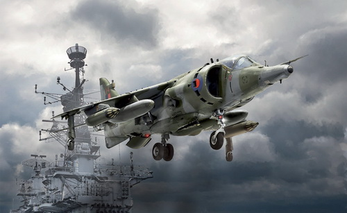 Harrier GR.3 Falkland War